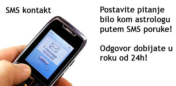Odgovor lično od astrologa putem SMS poruke