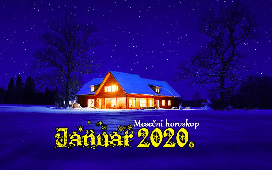 Mjesečni horoskop za JANUAR 2020.